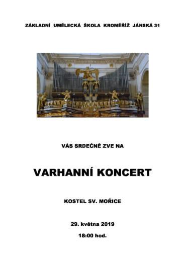 Varhanní koncert